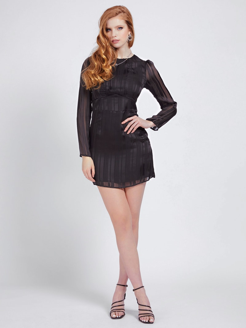 PLEATED DETAIL DRESS image number 1