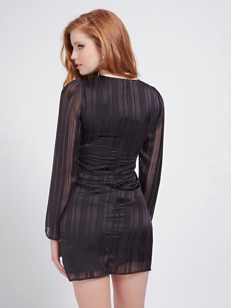 PLEATED DETAIL DRESS image number 2