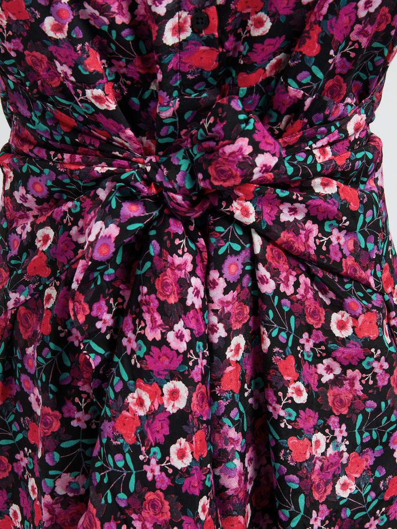 VISCOSE CHEMISIER DRESS image number 2