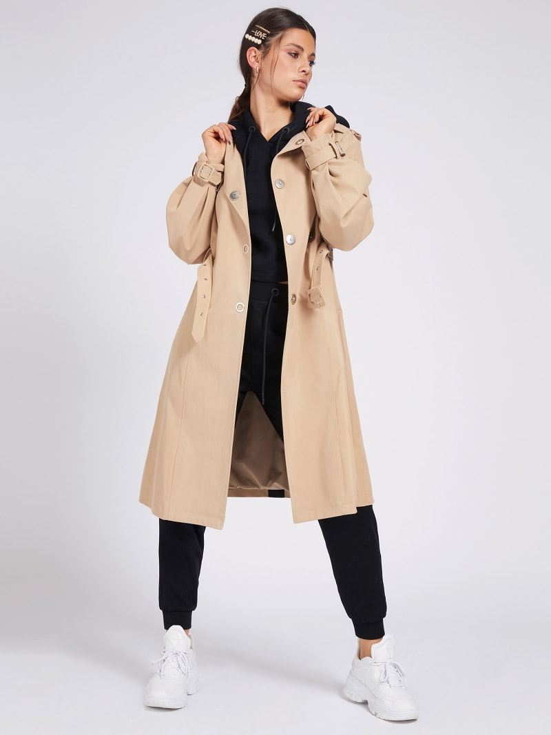 BALLOON SLEEVES TRENCH image number 0