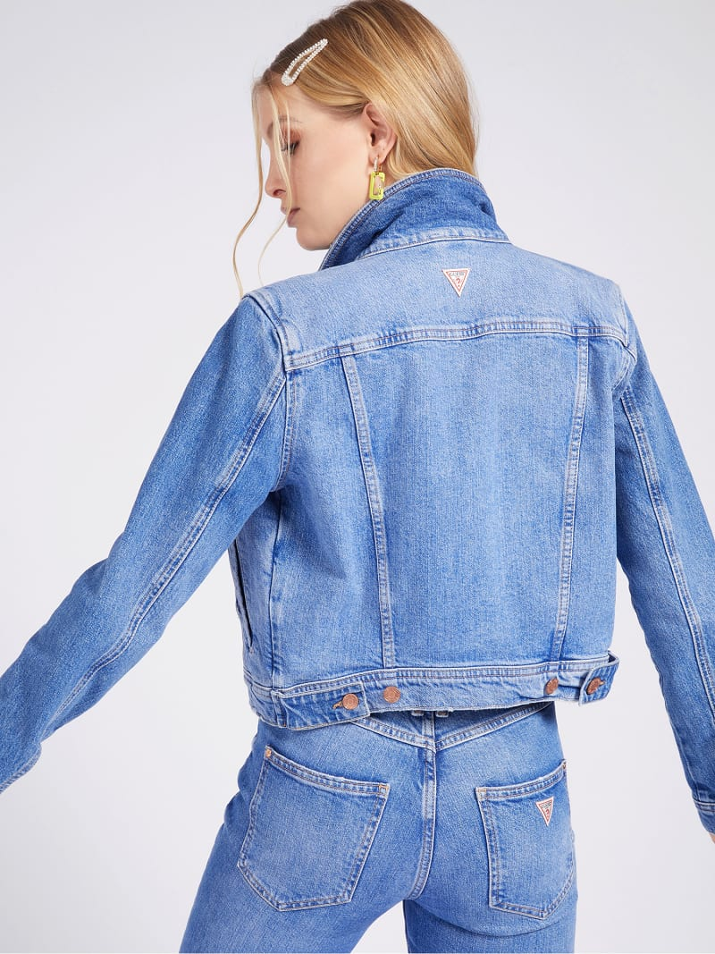 REGULAR FIT DENIM JACKET image number 2