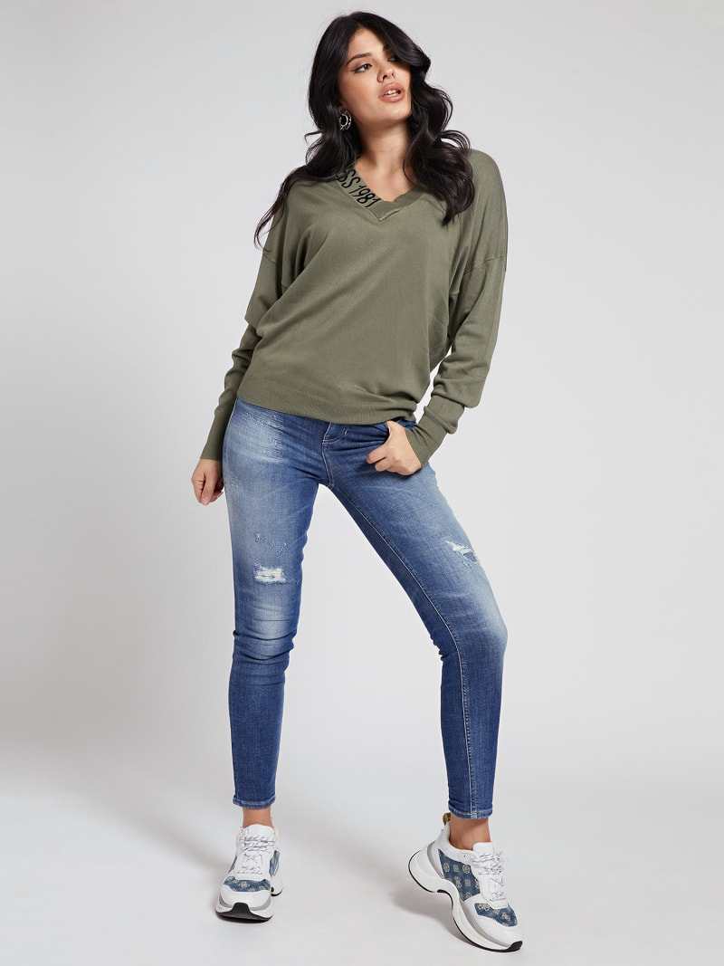 OVERSIZE FIT SWEATER image number 1