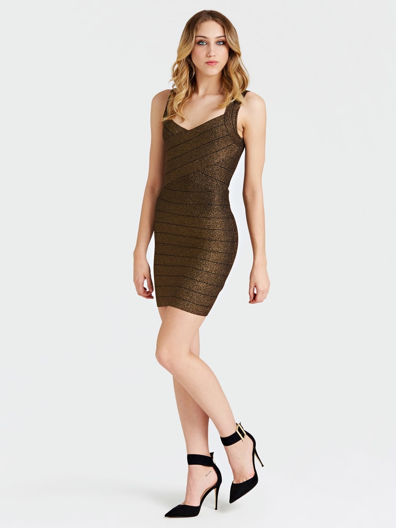 GLITTER-LOOK DRESS image number 0
