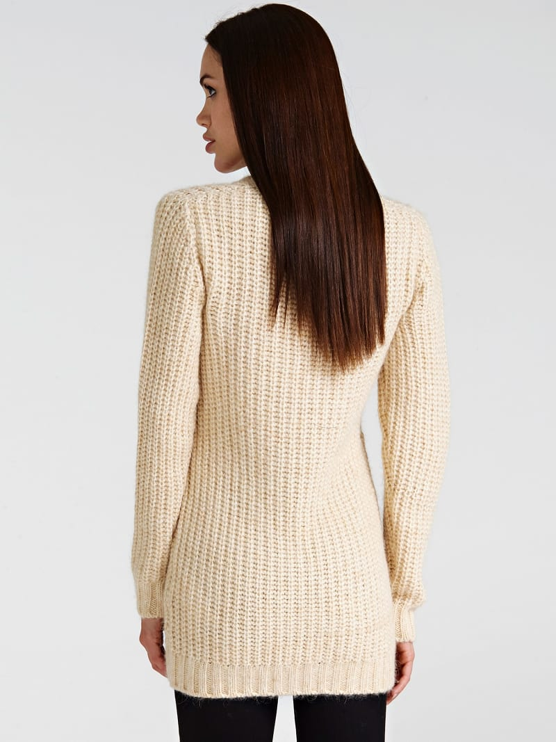 STUD NECK SWEATER image number 2
