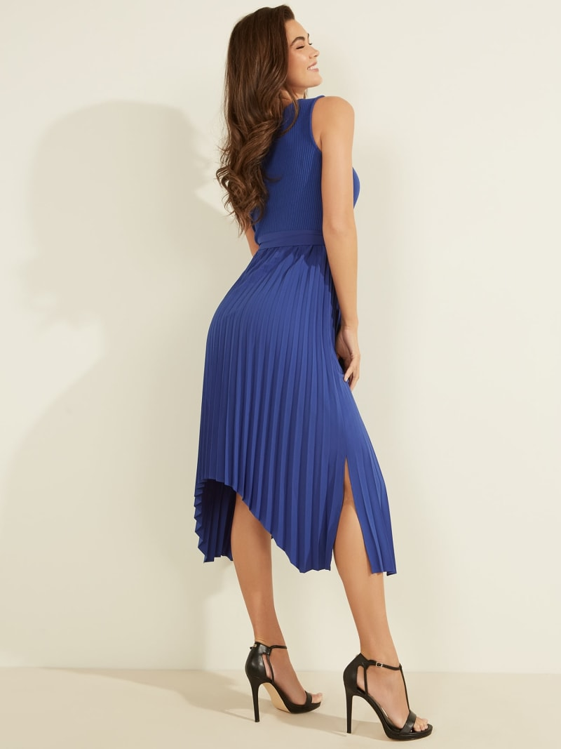 MIDI SLEEVELESS DRESS image number 3