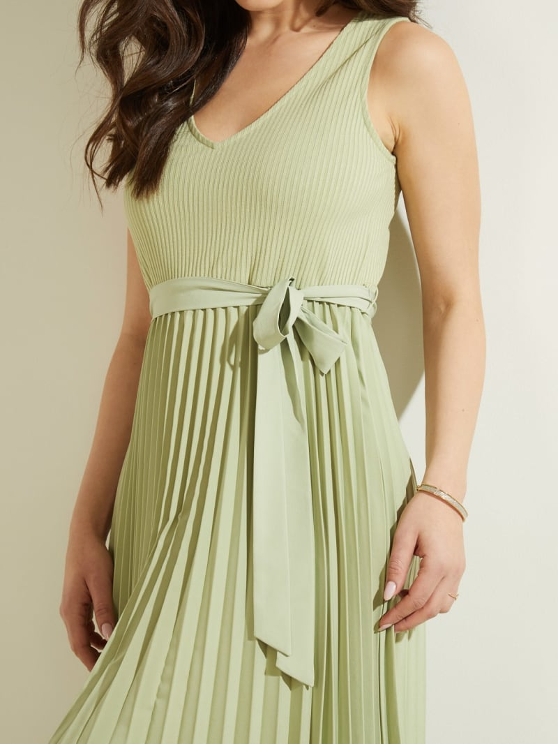 MIDI SLEEVELESS DRESS image number 2