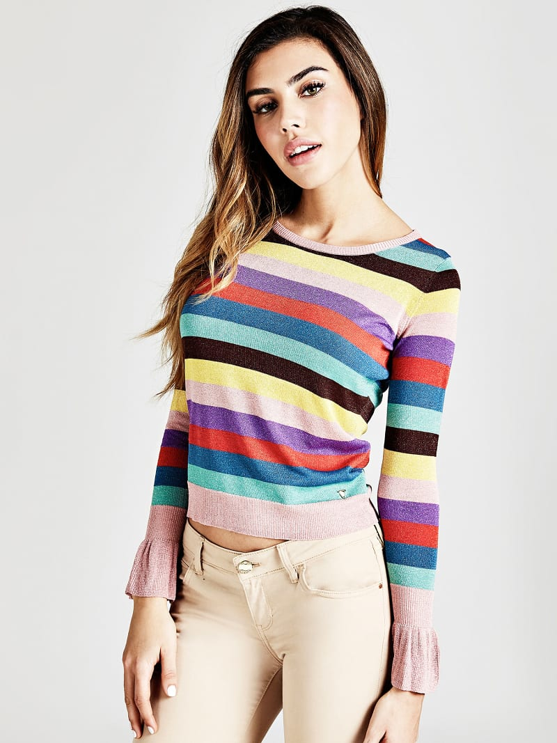 FLARED DETAIL CLASSIC JUMPER  image number 1