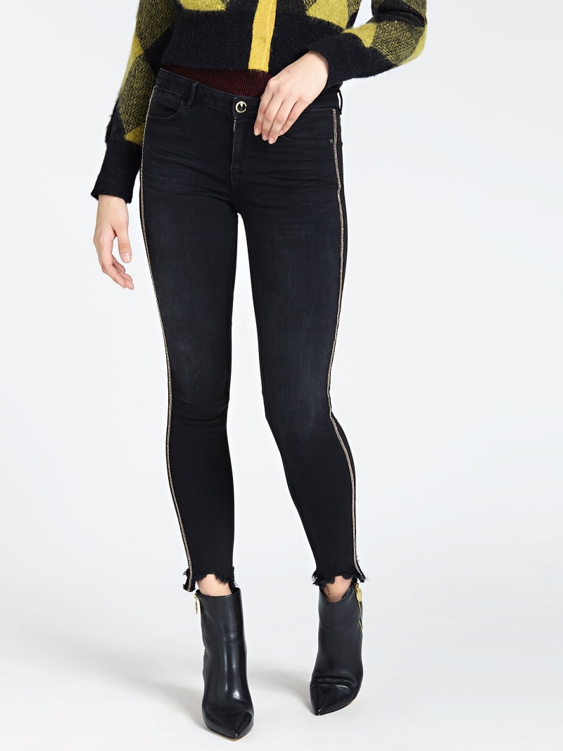 JEGGING DENIM RIGA LATERALE image number 0
