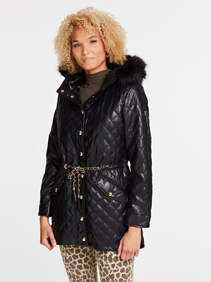 PADDED QUILTED JACKET image number 0
