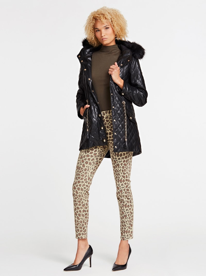 PADDED QUILTED JACKET image number 1