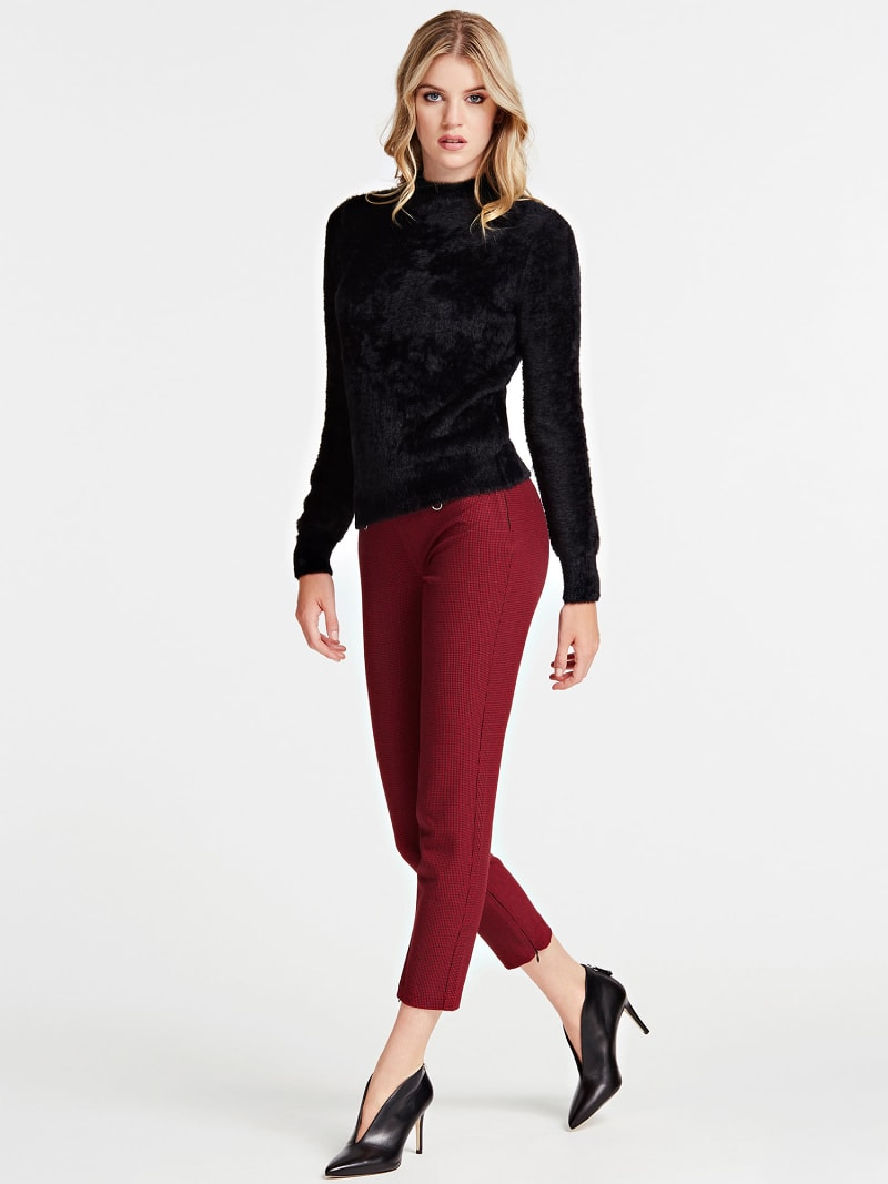 MOCK POLO NECK SWEATER image number 1