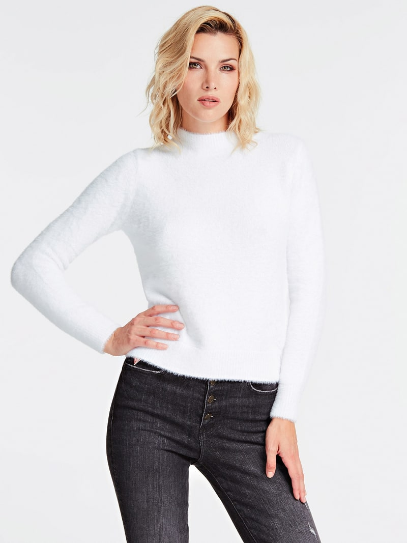 MOCK POLO NECK SWEATER image number 0