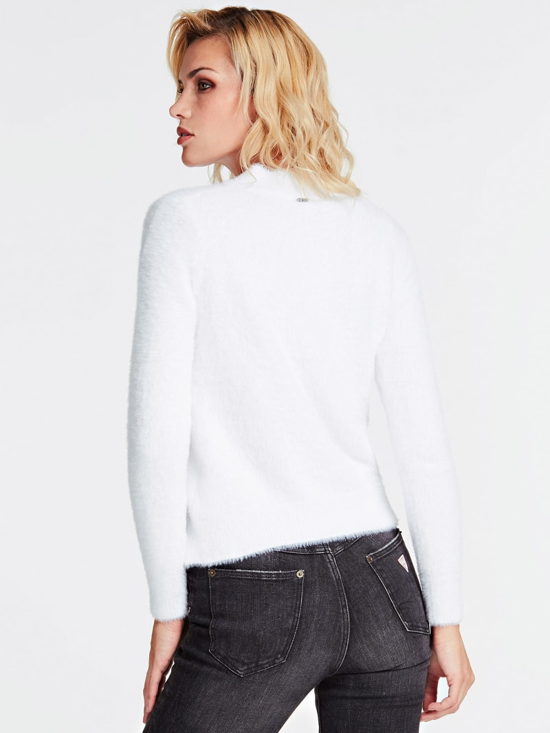 MOCK POLO NECK SWEATER image number 2