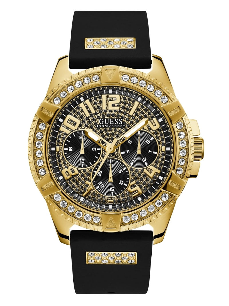 Analitico inventare Intarsio  MULTI-FUNCTION RHINESTONE WATCH | Guess Official Online Store