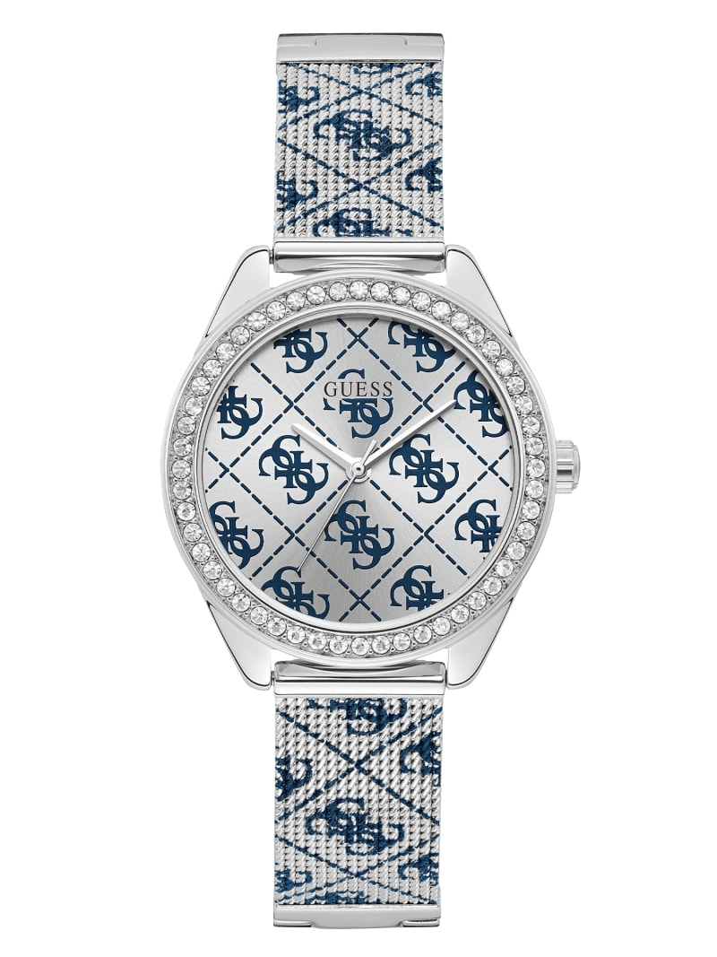 ALL-OVER 4G LOGO ANALOGUE WATCH image number 0