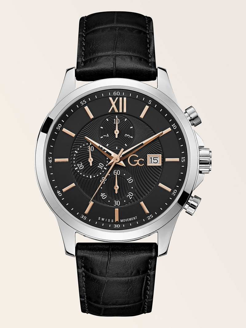 GC CROC PRINT CHRONOGRAPH WATCH image number 0