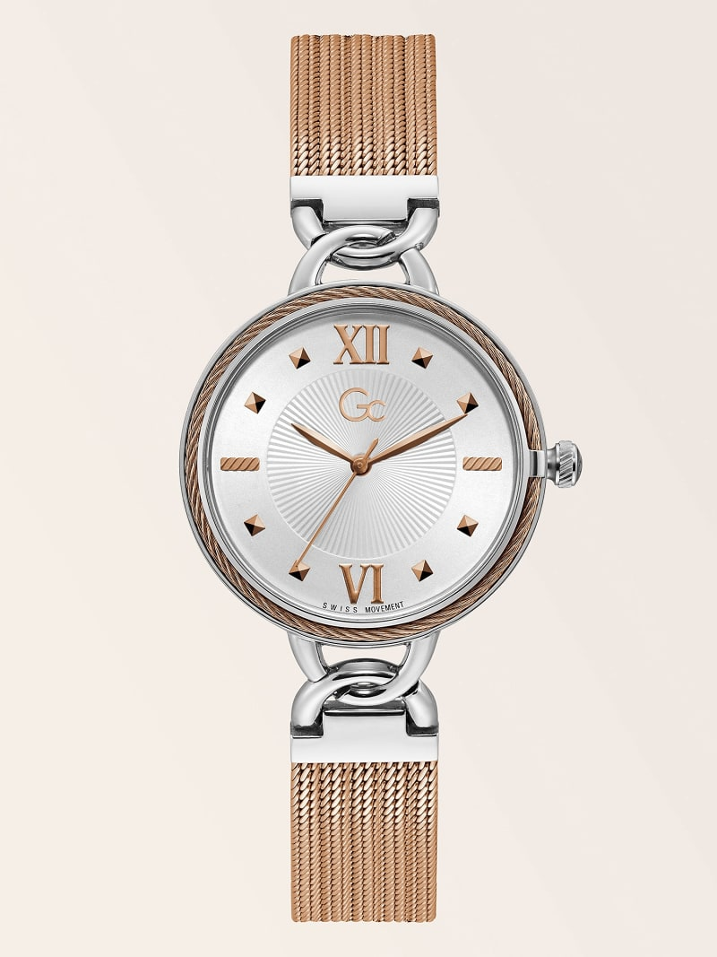 TWO-TONE GC ANALOGUE QUARTZ WATCH image number 0