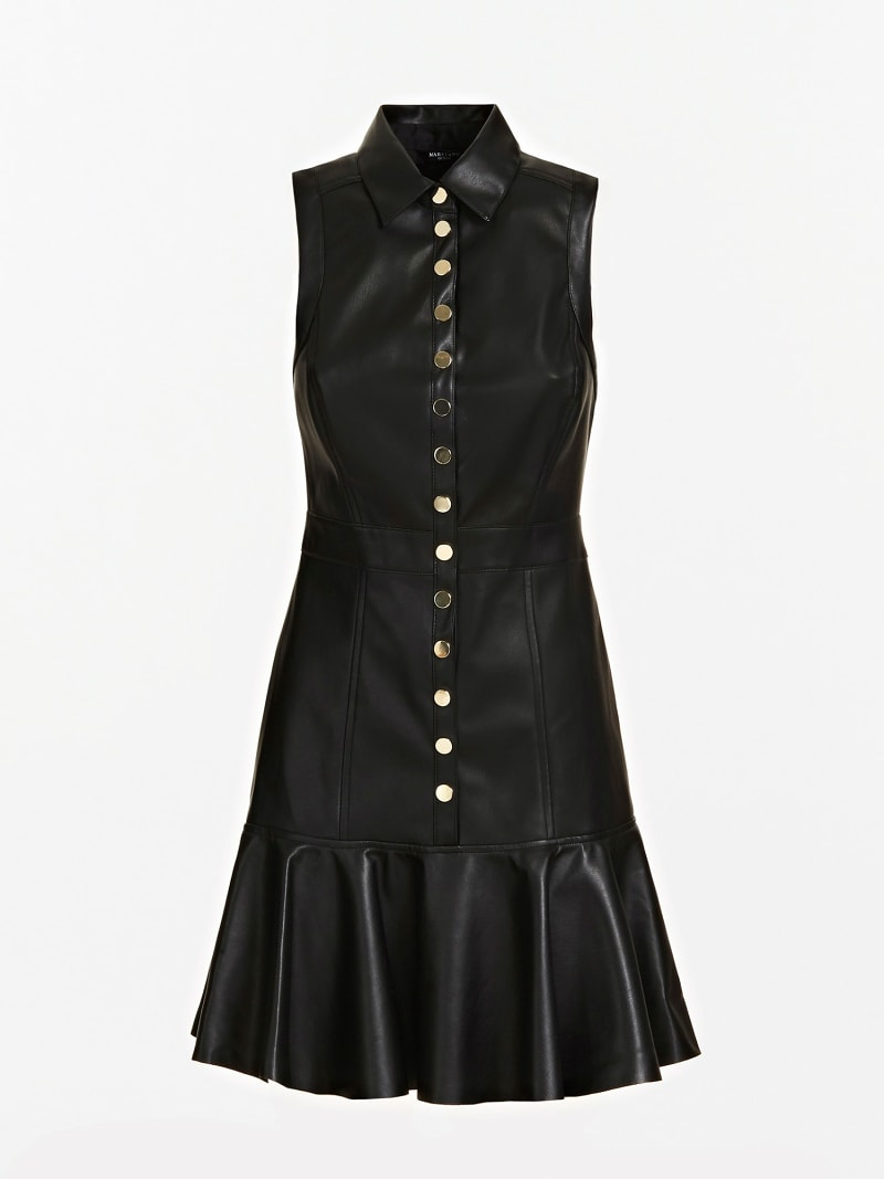 MARCIANO FAUX LEATHER DRESS image number 2