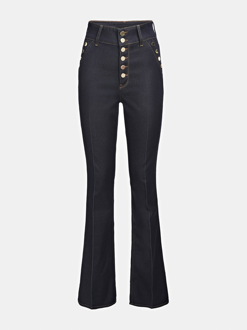 MARCIANO FLARE DENIM PANT image number 3
