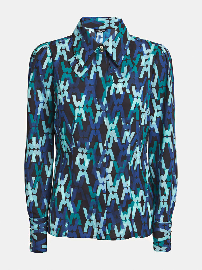 MARCIANO ALL OVER PRINT SHIRT image number 3