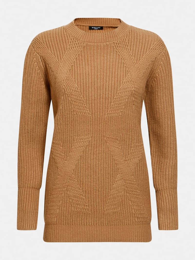 MARCIANO WOOL BLEND SWEATER image number 3
