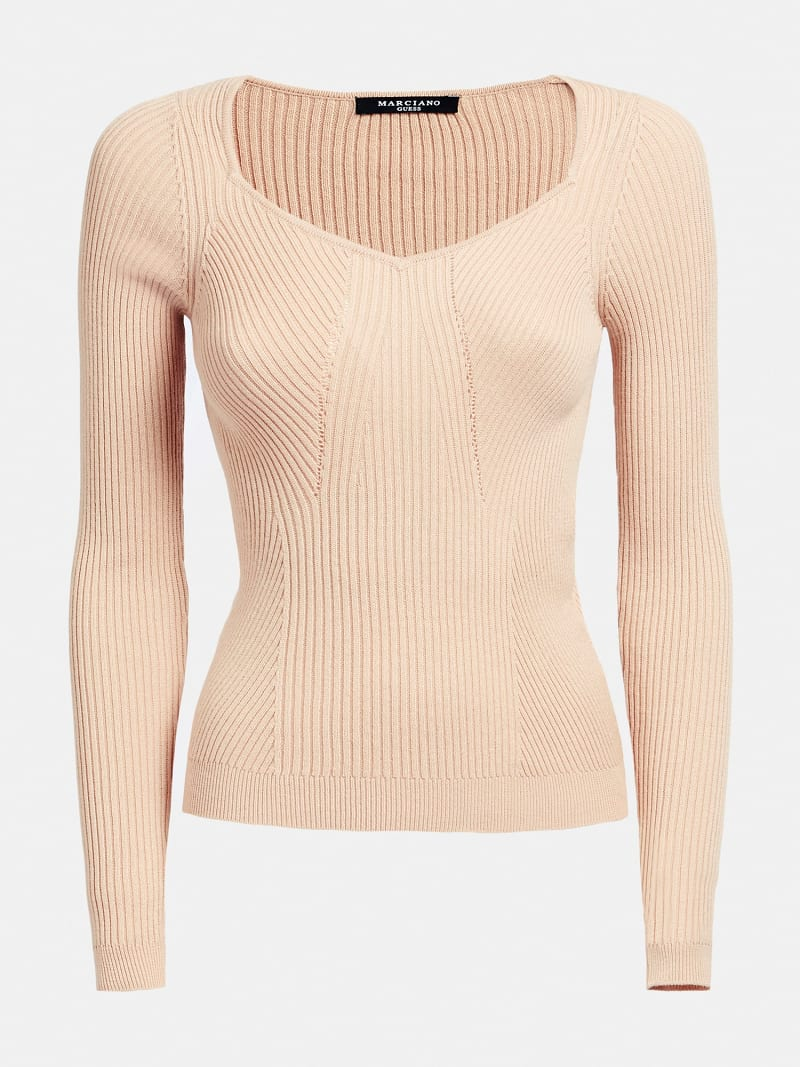 MARCIANO RIB SWEATER image number 3