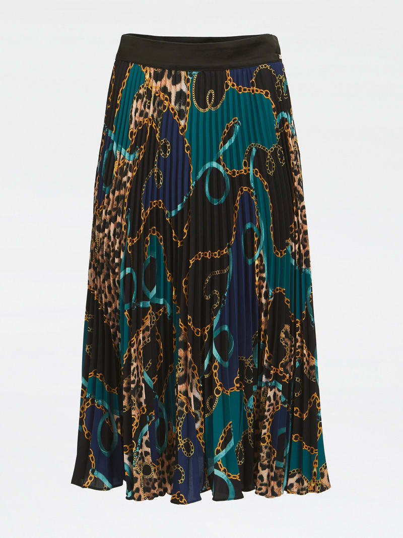 MARCIANO ALL OVER PRINT SKIRT image number 3