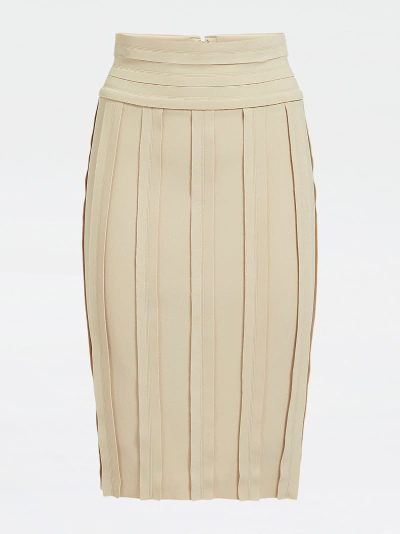MARCIANO RAW CUT SKIRT image number 3