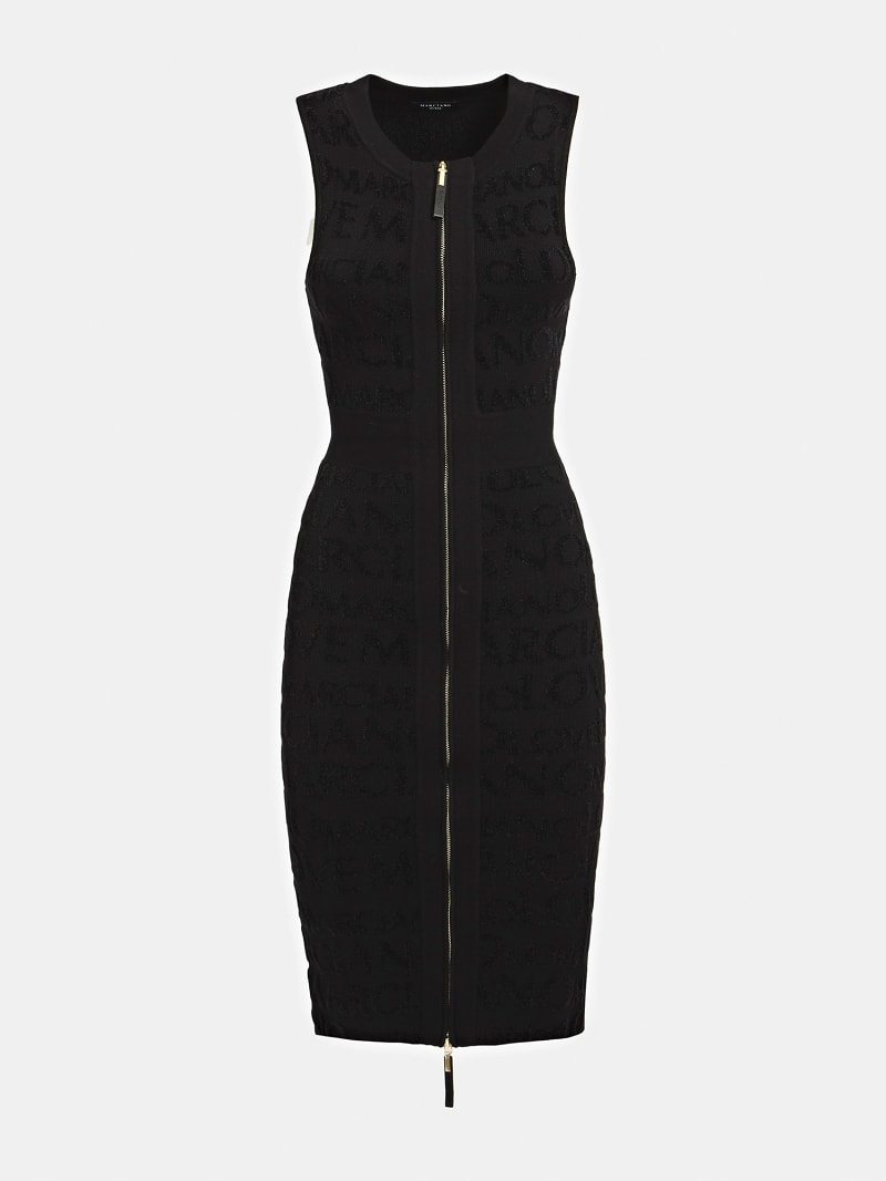 MARCIANO JACQUARD DRESS image number 2