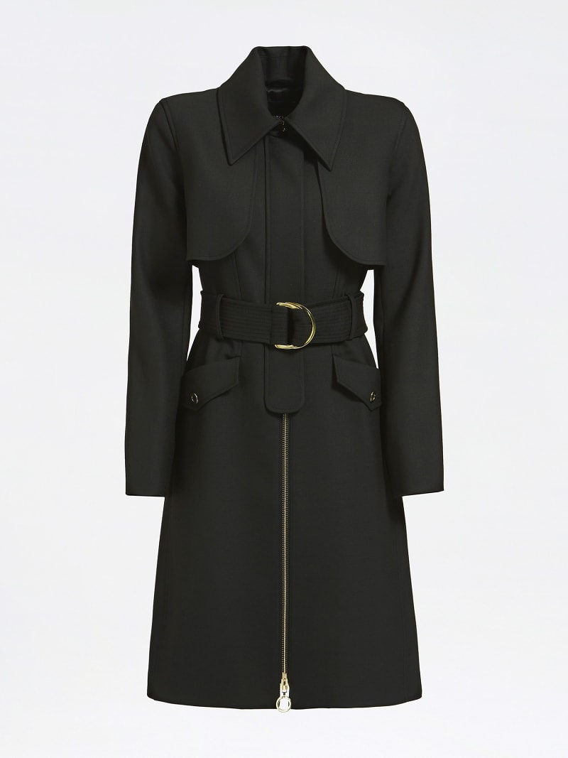 MARCIANO BELTED DRILL COAT image number 3