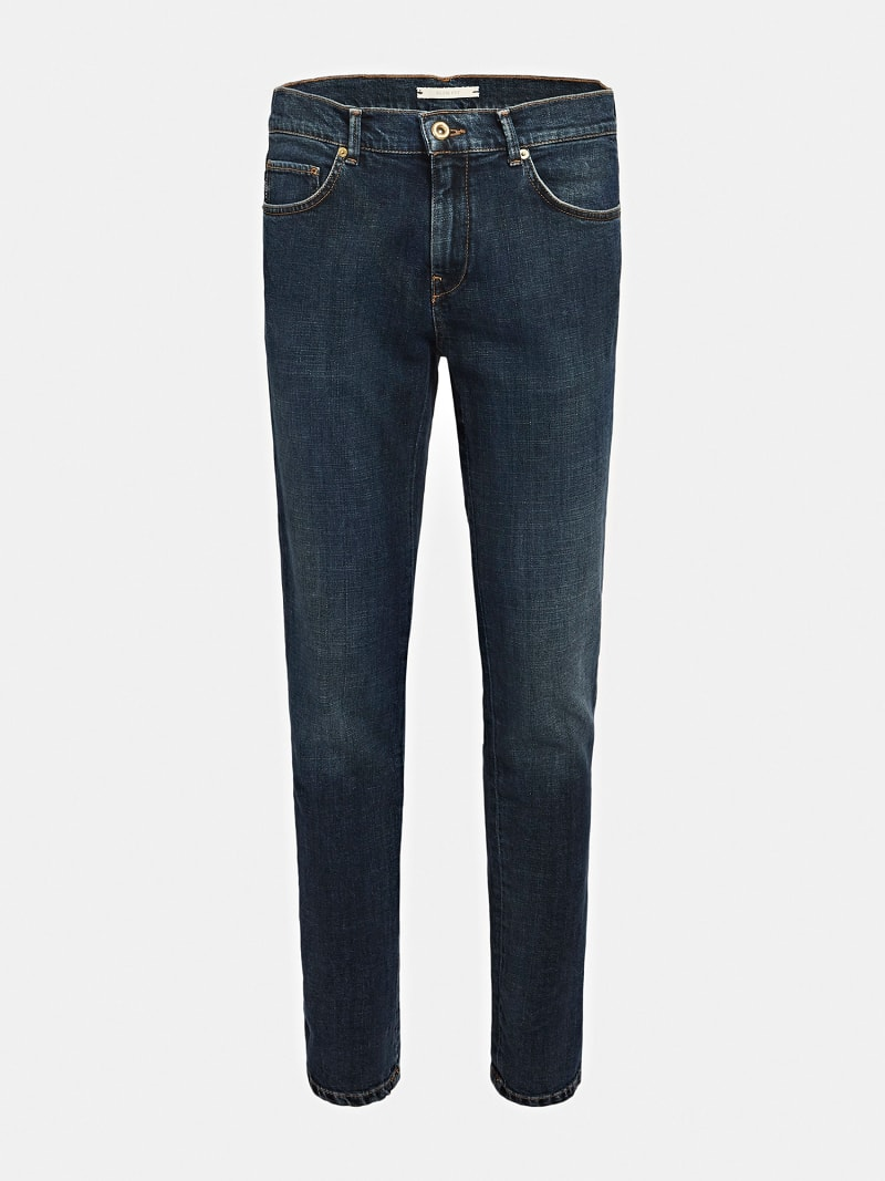 MARCIANO SLIM FIT DENIM PANT image number 3