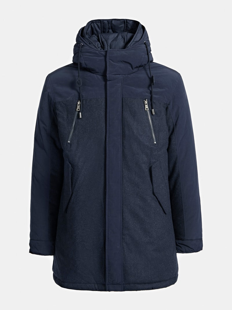 MARCIANO WOOL BLEND PARKA image number 4