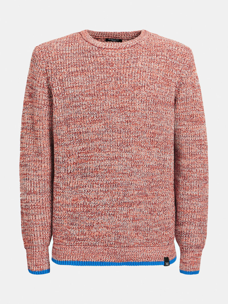 MARCIANO COTTON BLEND SWEATER image number 3