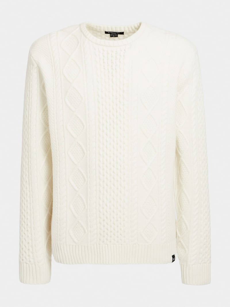 MARCIANO WOOL SWEATER image number 3