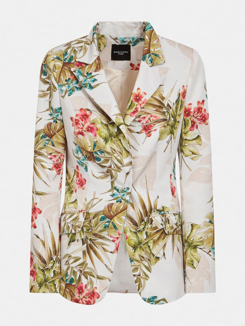 BLAZER MARCIANO STAMPA FLOREALE image number 3