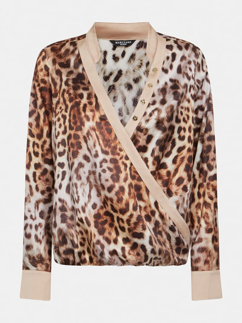 MARCIANO PRINT BLOUSE image number 4
