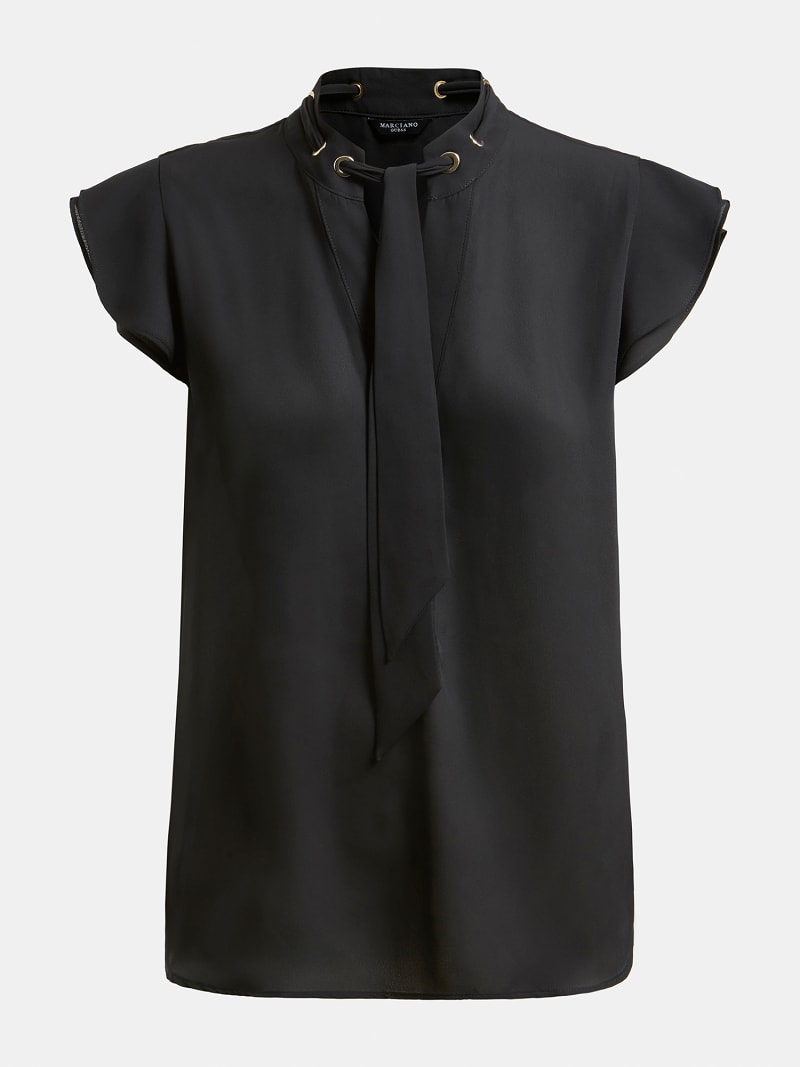 MARCIANO EMBROIDERED TOP image number 4