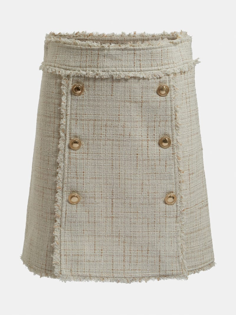MARCIANO TWEED MINI SKIRT image number 4