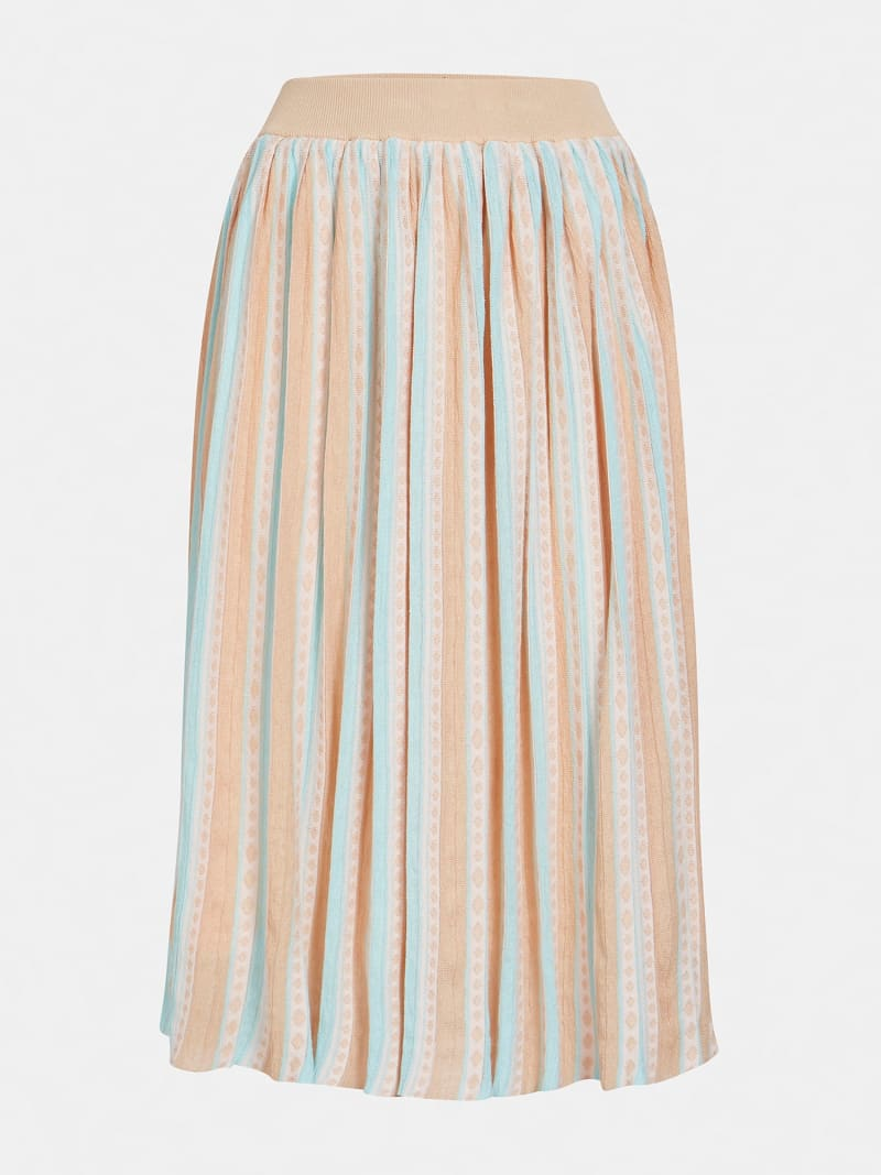 MARCIANO PLEATED SKIRT image number 3