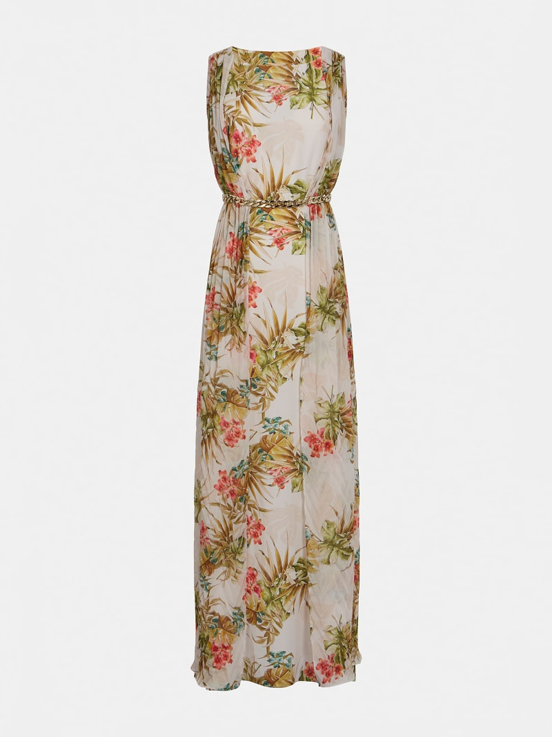 MARCIANO PRINT DRESS image number 2