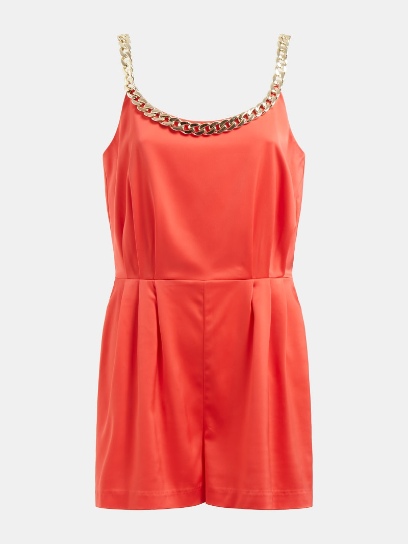 MARCIANO SHORT JUMPSUIT CHAIN image number 4