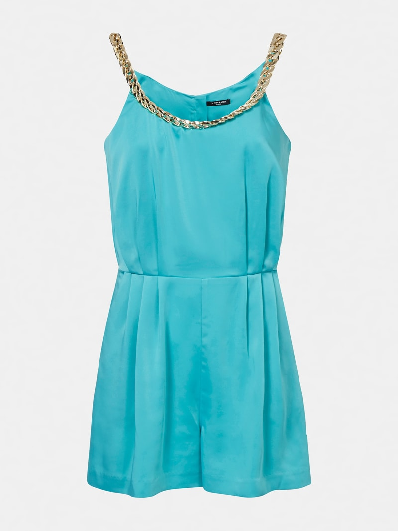 MARCIANO SHORT JUMPSUIT CHAIN image number 2