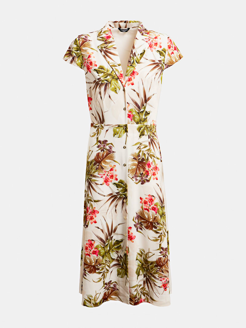 MARCIANO FLORAL LONG DRESS image number 2