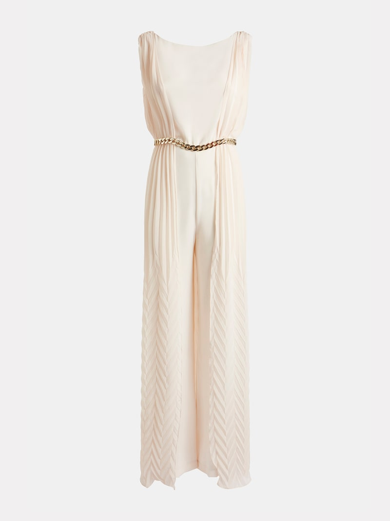 MARCIANO PLEATED JUMPSUIT image number 4