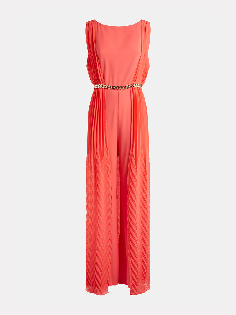 MARCIANO PLEATED JUMPSUIT image number 3