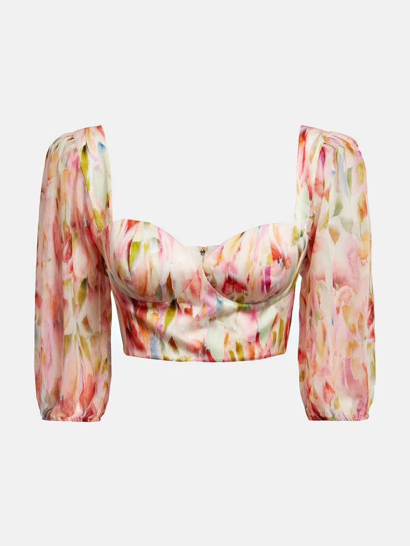 MARCIANO ALL-OVER PRINT TOP image number 3