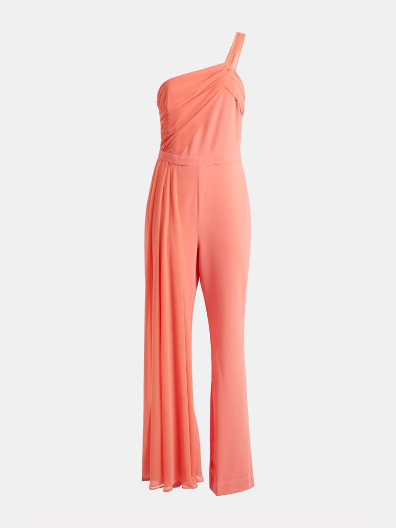 MARCIANO DRAPED JUMPSUIT image number 5