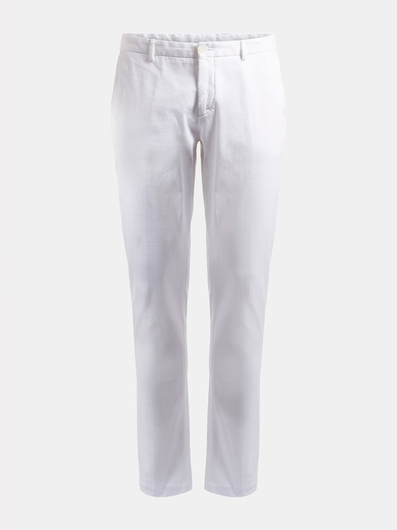 PANTALONE TINTO IN CAPO MARCIANO  image number 3