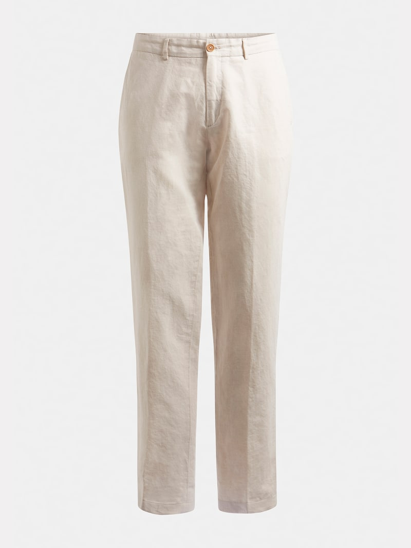 MARCIANO LINEN PANT image number 3
