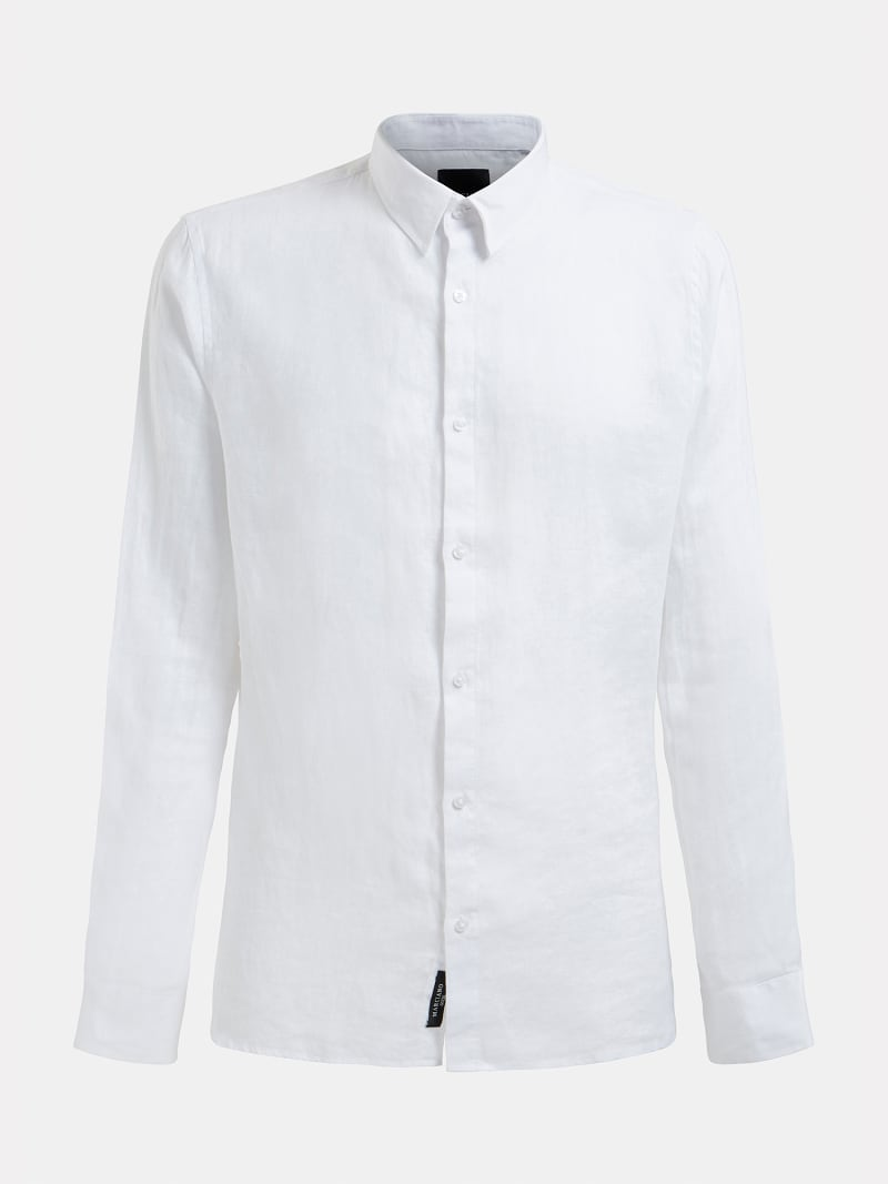 MARCIANO LINEN SHIRT image number 4